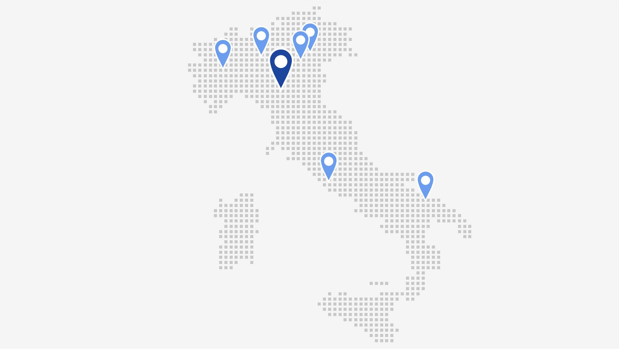 Le sedi del gruppo spaggiari in italia for Dove ha sede il parlamento italiano